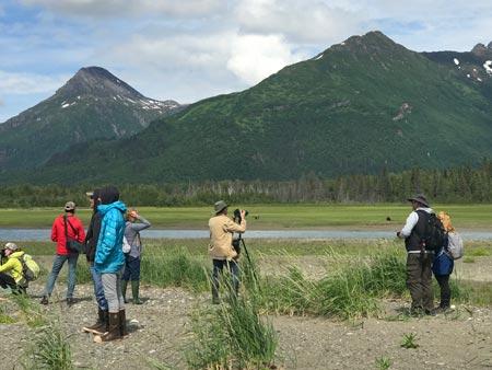 Bear Watching Tours in Alaska at lake Clark National Park